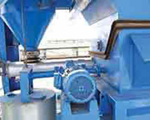 Weighing system of bitumen batch machine
