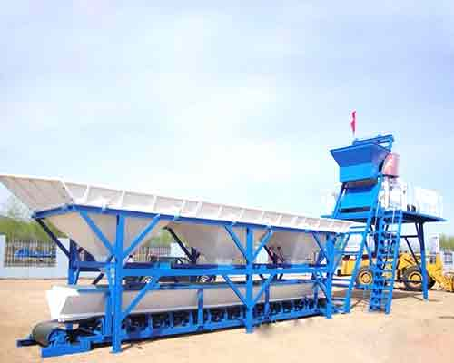 Mobile Type Concrete Batching Plant for Sale