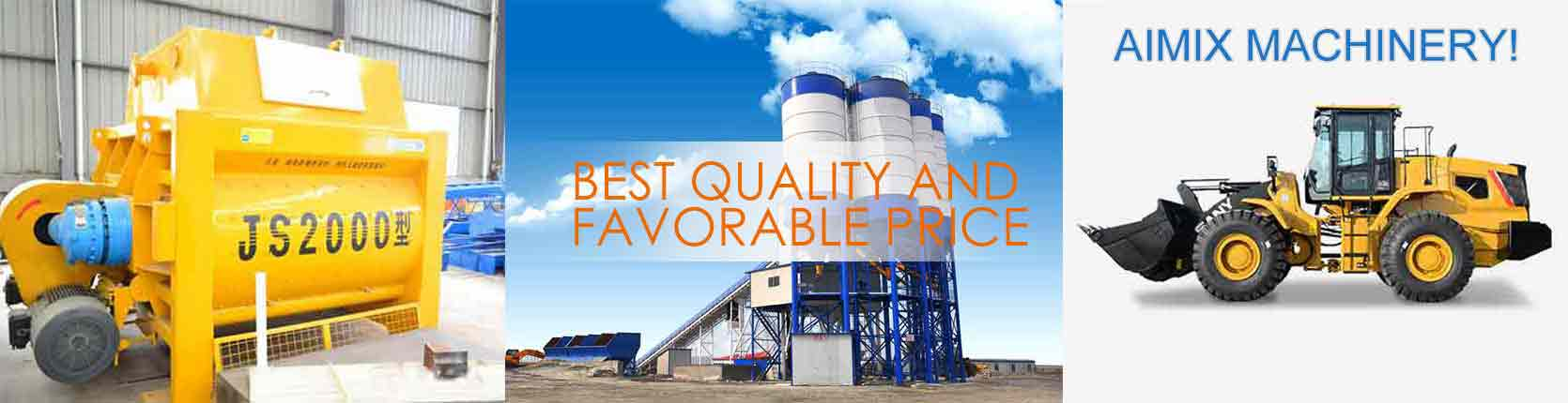 Ready Mixed Concrete Production Equipment for Sale in AIMIX