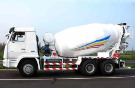 Buy concrete mixing truck in AIMIX