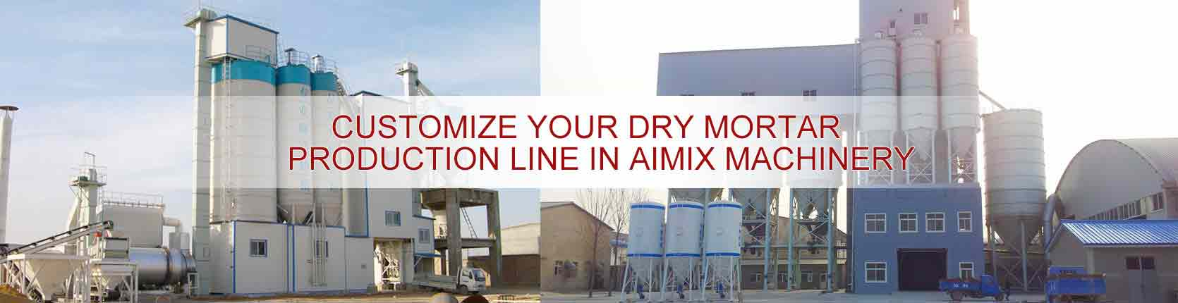 Ready Mixed Dry Mortar Production Equipment for Sale in AIMIX