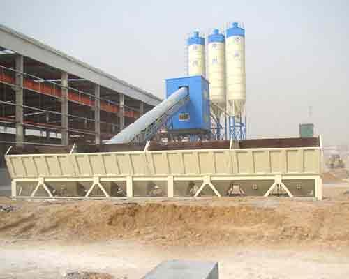 HZS120 Concrete Mixing Plant for Sale