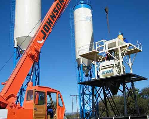 HZS60 Concrete Batching Equipment Plant for Sale