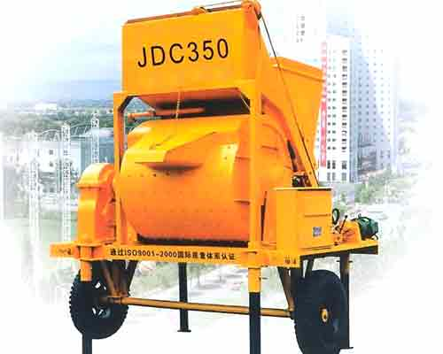 JDC350 Single shaft concrete mixer for sale in AIMIX