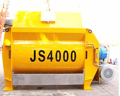 JS4000 Twin shaft concrete mixer for sale in AIMIX