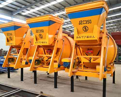 Self gravity operated JZC350 Concrete Mixer for Sale in AIMIX