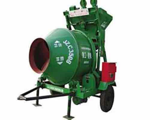 Self gravity operated JZC350B Concrete Mixer for Sale in AIMIX