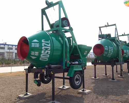 Buy Self gravity operated JZC500 Concrete Mixer in AIMIX