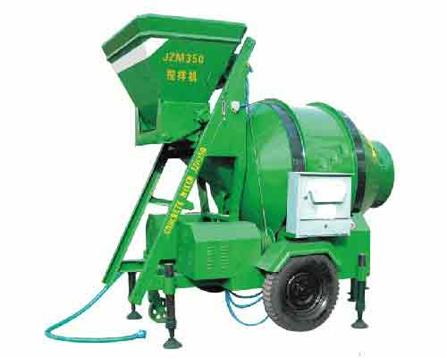 Self gravity operated JZM350 Type Concrete Mixer for sale in AIMIX