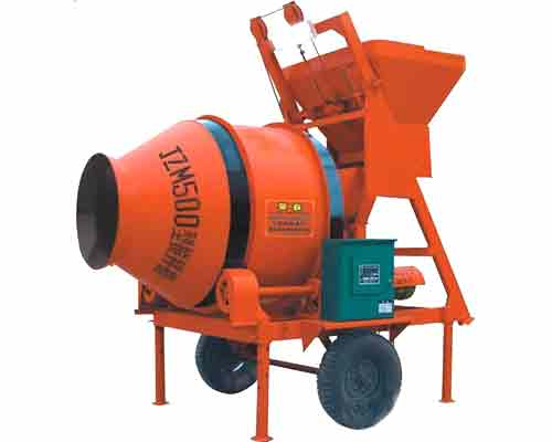 Self gravity operated JZM500 Type Concrete Mixer for Sale in AIMIX