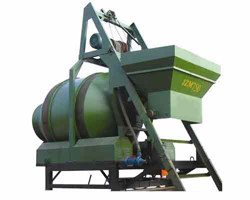 Buy self gravity operated JZM750 Concrete Mixer in AIMIX