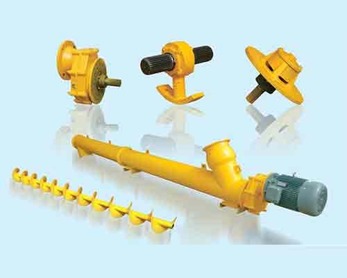 Parts of Screw Conveyor in AIMIX