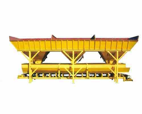 Buy Three hoppers Type PLD1200 Concrete Batching Machine in AIMIX