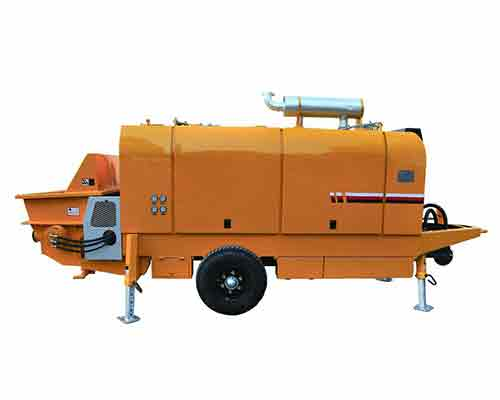 Buy trailer concrete pump in AIMIX