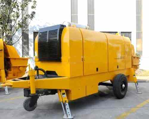 Buy Best Quality Trailer concrete pump in AIMIX