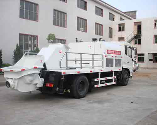 Buy HBC90 trunk mounted concrete pump in AIMIX