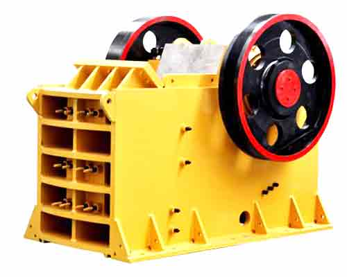 Jaw stone crusher machine
