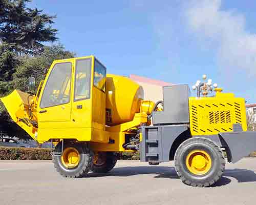 hot sale portable mixer truck
