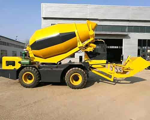 Choose portable concrete mixer truck in Aimix