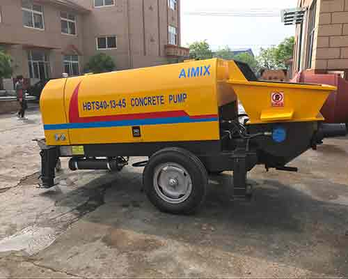 One Diesel Concrete Pumping Machine was Completed for Customer from Nigeria