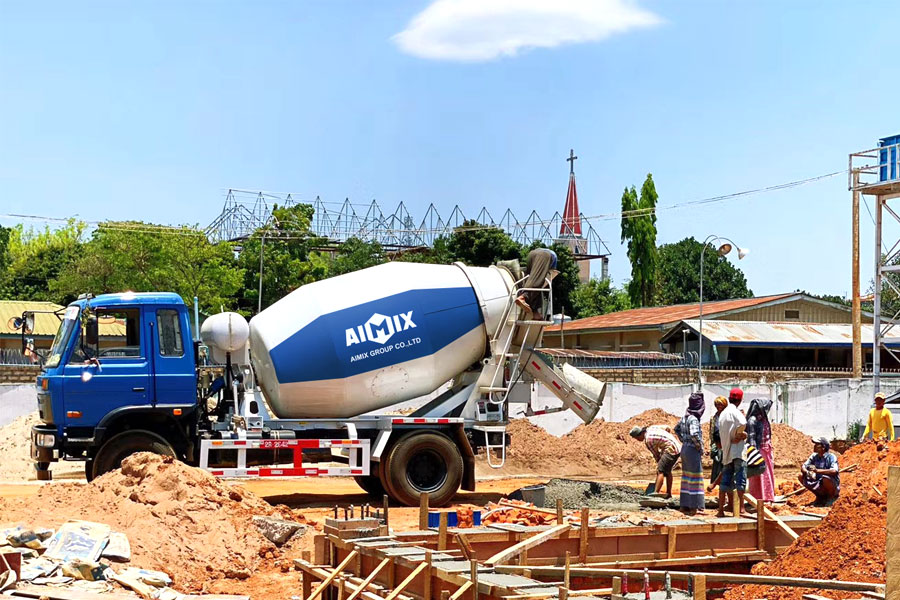 good quality concrete mixer truck