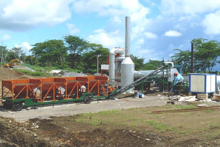 high quality asphalt batch plant