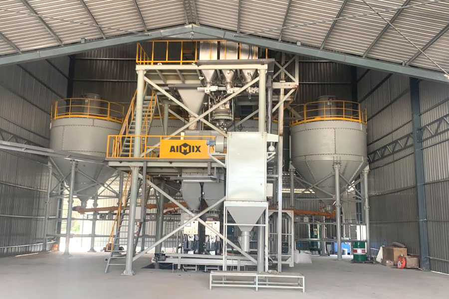 aimix low cost dry mortar plant