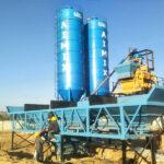 Semi-automatic Concrete Batching Plant