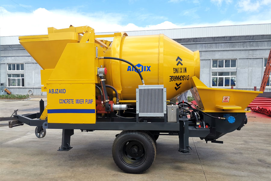 buy a concrete mixer pump from Aimix