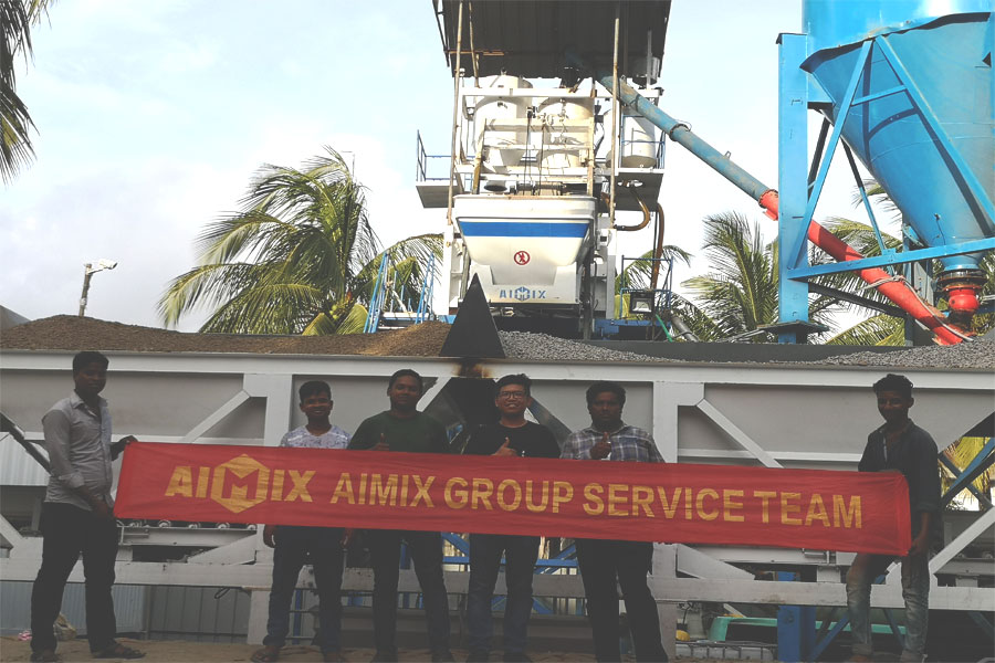 best after-sale service in Aimix Group