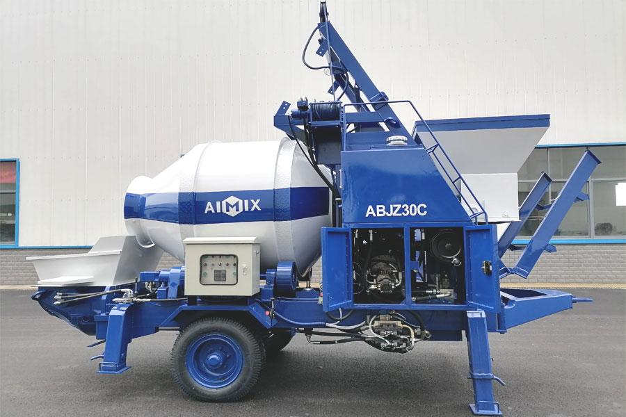 concrete mixer pump supplier