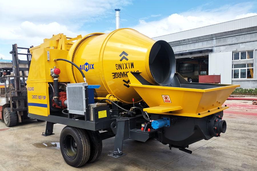 concrete pumping machine
