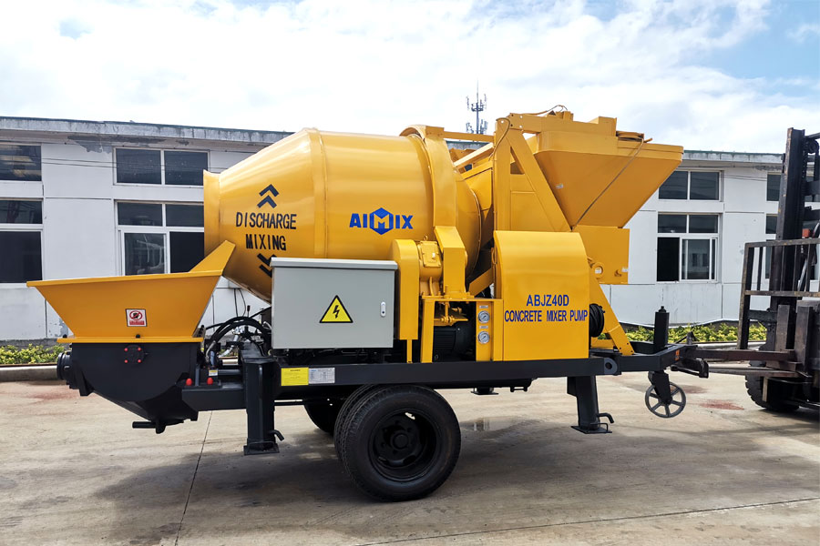 good quality concrete mixer and pump