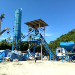 Fully-automatic Concrete Batching Plant