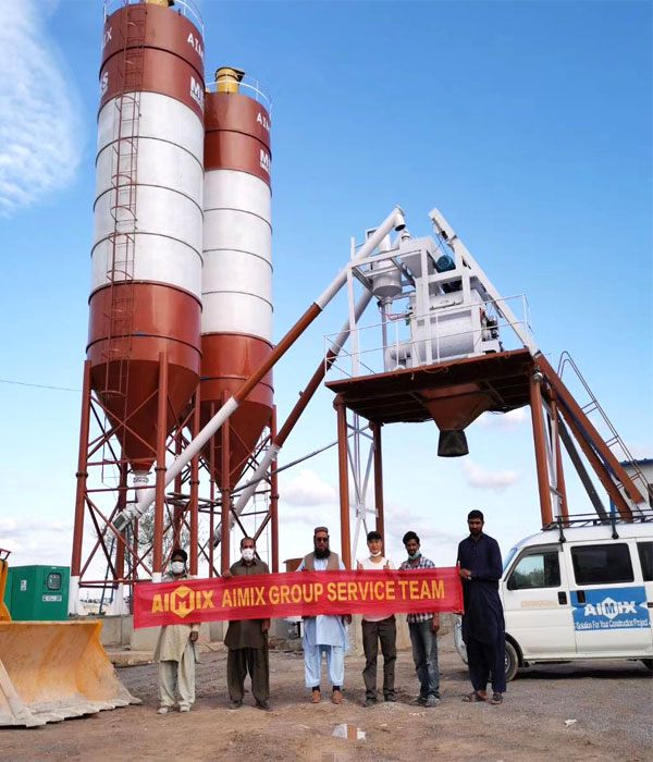 buy a concrete plant from Aimix Group