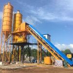 Belt Conveyor Type Concrete Batching Plant