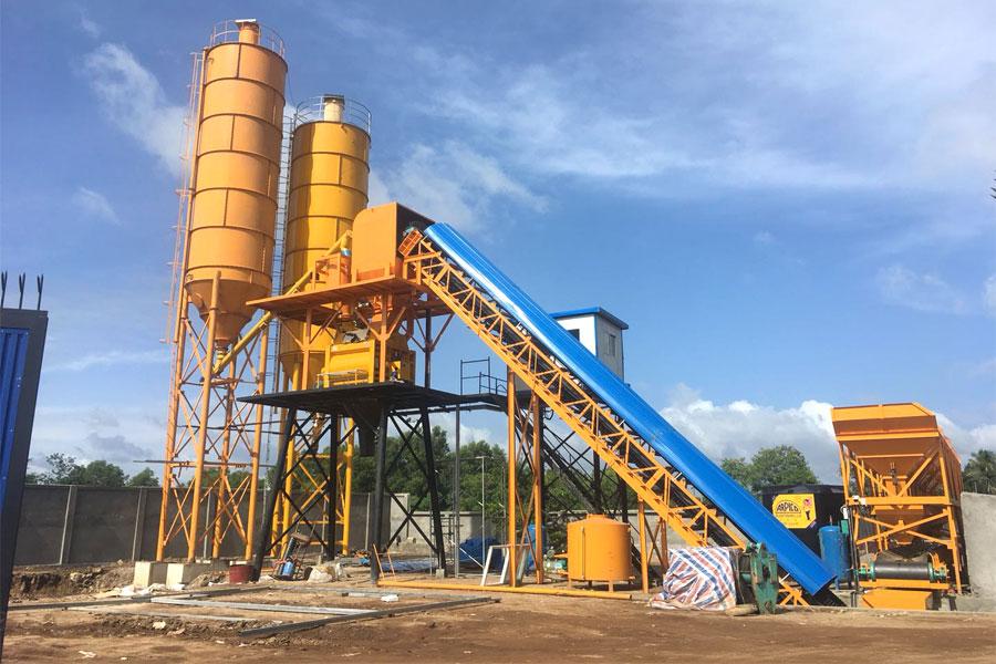 concrete plant supplier