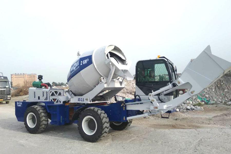 AIMIX self loading concrete mixer equipment