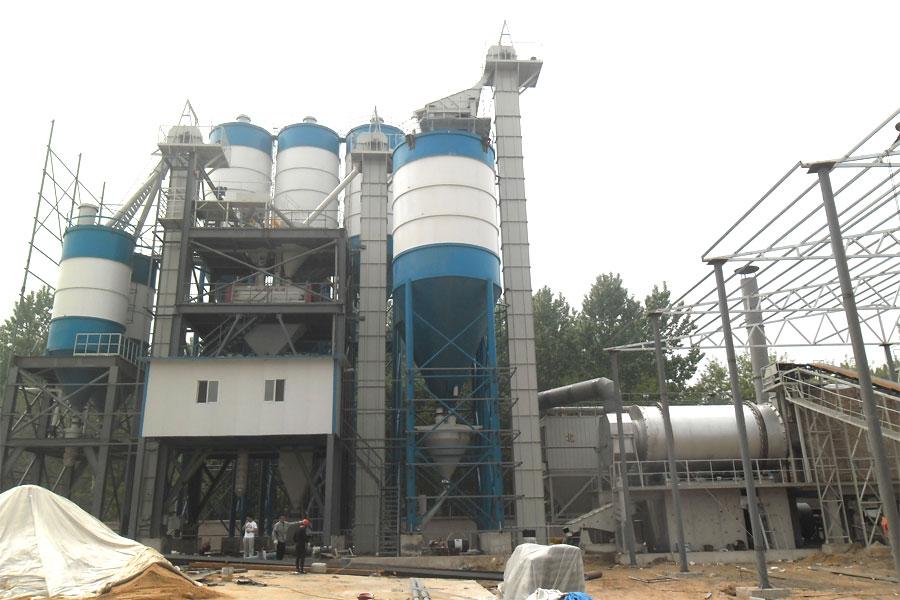 dry mortar mixing plant
