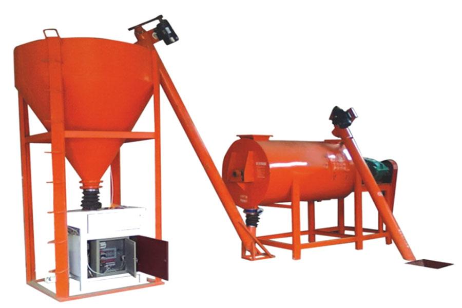 Dry mix Mixing Equipment Market
