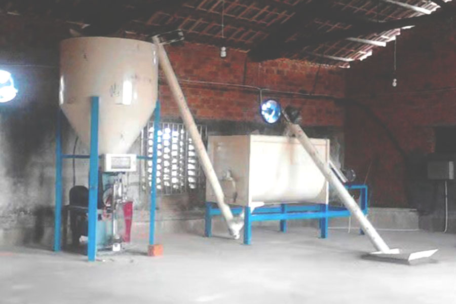 Simple Dry Mortar Batch Mix Equipment for sale