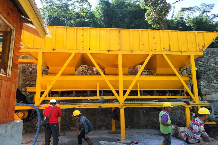 cement batching machine