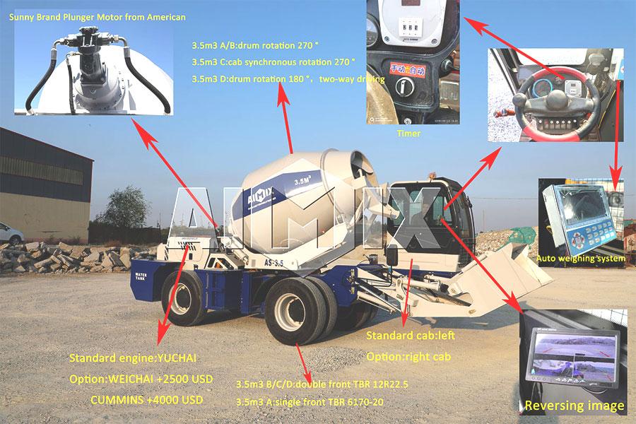 cheap self loading mixer trucks